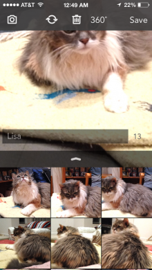 2014 07 14 00.49.11 220x390 3DBin photo app for iPhone helps you capture all the angles