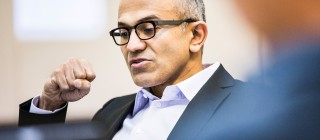 Satya Nadella Named CEO of Microsoft