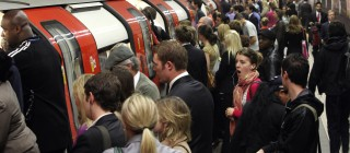 Commuter Chaos As RMT Workers Bring London Underground To A Standstill
