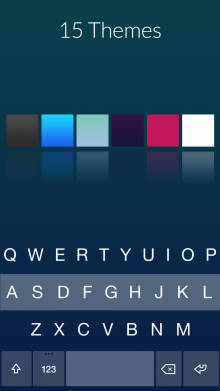 Alt Shot 3 220x391 Premium not freemium: Fleksy follows in SwiftKeys footsteps with a new store for themes