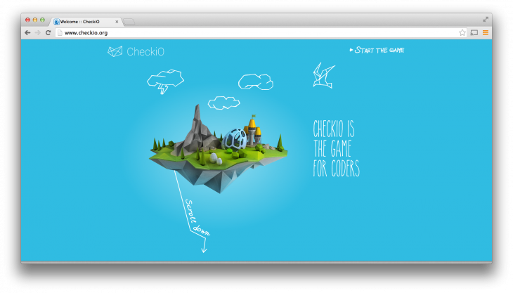 CheckiO 730x417 CheckiO launches a crowdsourced coding game platform for Python developers