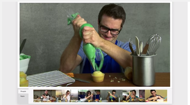Cooking Hangout How to run a Google+ Hangouts series