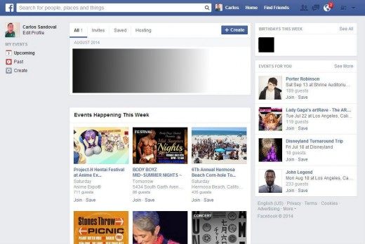 FB Events 520x348 Facebook builds on its suggested events feature to introduce Events for You