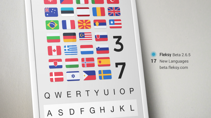 Fleksy Shot 2 730x410 Fleksy brings 17 new languages to its smart keyboard app for Android
