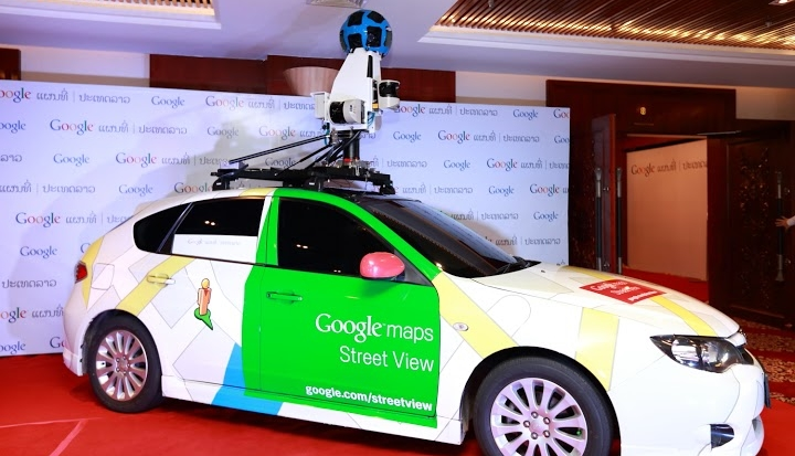 Google Lao 158 Google Street View expands in Asia as cars hit the road capturing images in Laos
