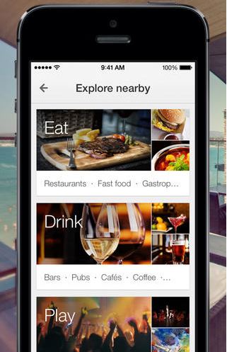 Google Maps explore ios Google Maps for iOS gets improved Search and Explore, plus Gmail events are now shown on the map