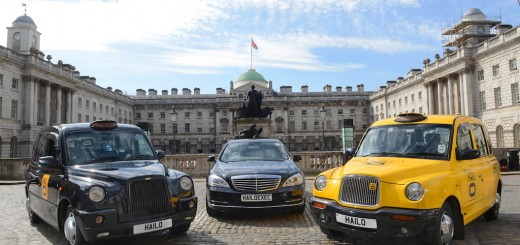 Hailo is adding executive cars to its taxi hailing service in London.