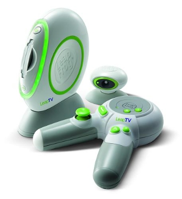 LeapFrogTV LeapFrogs LeapTV is a Wii style games console aimed squarely at kids