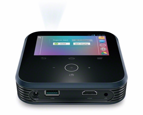 LivePro2 Sprints new portable projector cleverly doubles as a Wi Fi hotspot