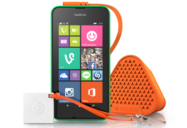 Lumia 530 With Coloud Bang Treasure Tag Microsoft launches $114 Lumia 530 with 4 inch display. Hits Europe next month