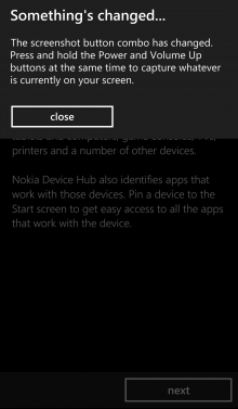 Lumia 930 screenshot change 220x377 Nokia Lumia 930 review: Finally, a flagship Lumia that feels like a phone first and a camera second