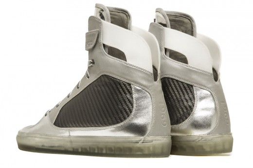 Moon Sneakers 1 520x346 These high tech sneakers commemorate the 45th anniversary of the moon landing