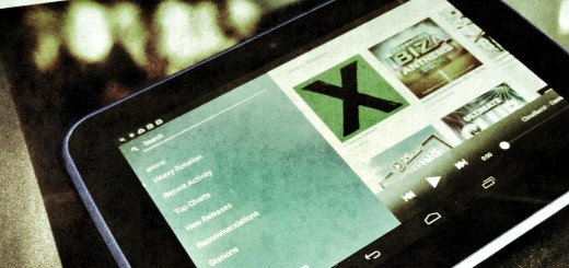Music Streaming - Retro look