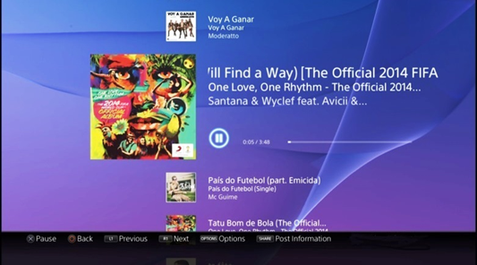 MusicUnlimitedPS4 Sonys Music Unlimited service updated on PS4 with new player and better content discovery