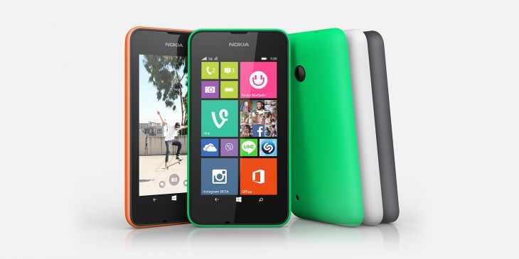 Nokia Lumia 530 hero jpg 730x365 Nokia Lumia 530 arriving in the UK on September 4 priced from £60