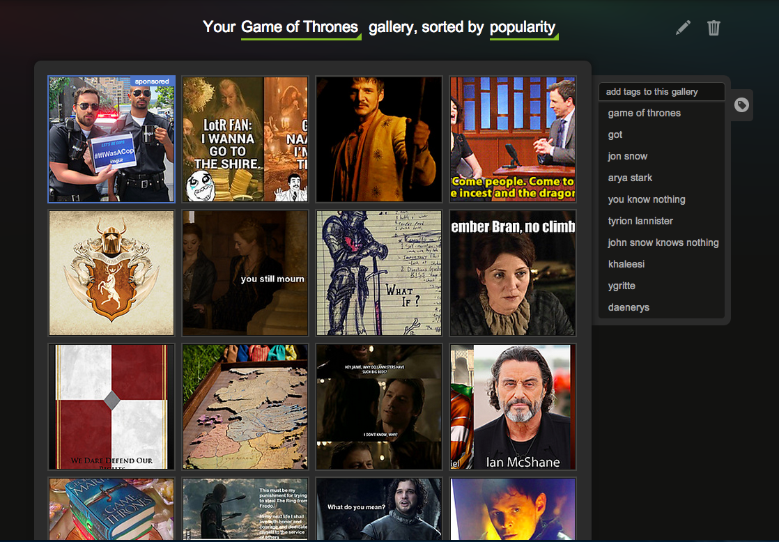 Imgur adds new crowdsourced tagging features that let you create custom galleries - The Next Web