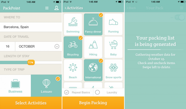 PackPoint iOS 730x429 PackPoints popular packing list app is now available for iPhone