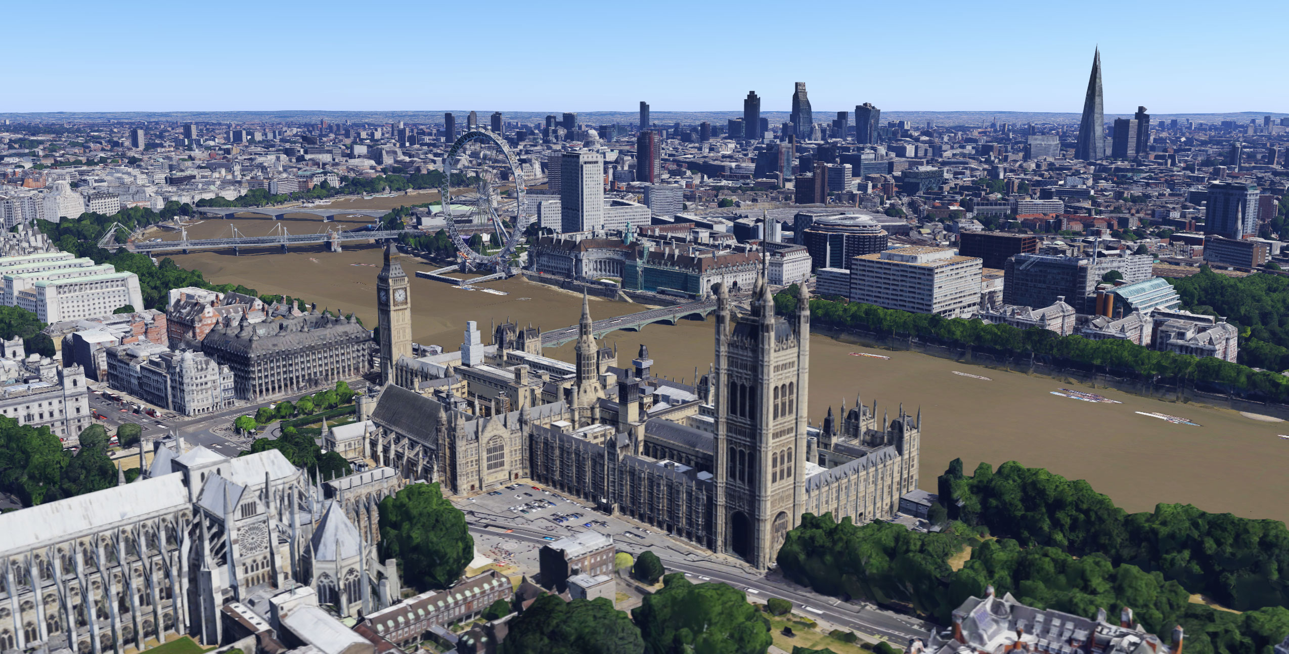 Google Maps and Earth Get Detailed London 3D Imagery