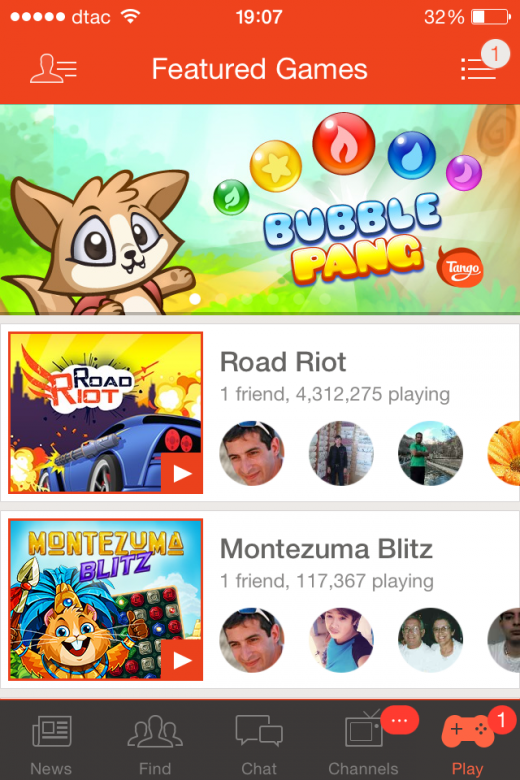 Photo 21 07 2014 19 07 40 520x780 Tango launches a $25m fund for mobile games as it looks to win the US chat app race