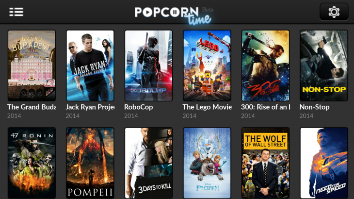 Popcorn time 730x410 Hollywoods worst nightmare just got worse, as Popcorn Times Android app gets Chromecast support