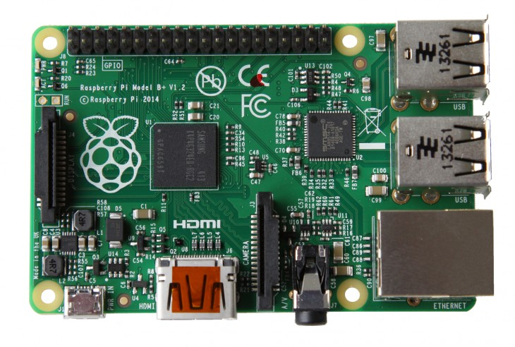 Raspberry Pi 730x492 Raspberry Pis affordable micro computer gets a new, less power hungry model