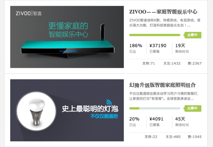 Screen Shot 2014 07 02 at 2.28.13 pm 730x507 Alibabas rival JD.com pushes crowdfunding in China by launching its own platform