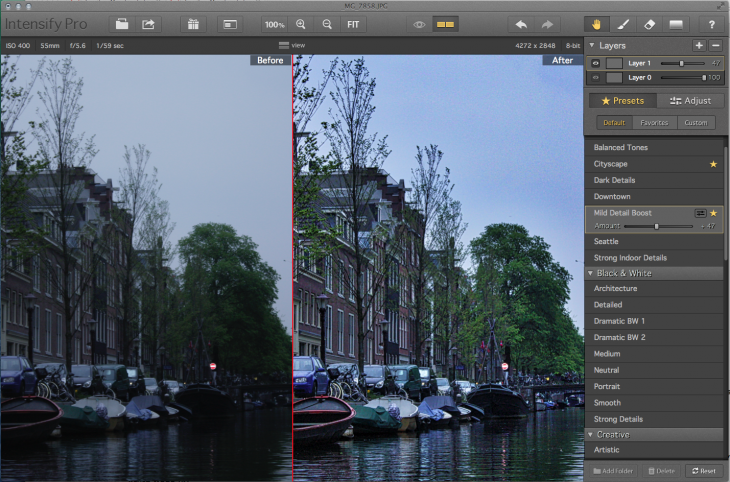 Review: Intensify Pro Photo App Offers Dazzling Quick Fix