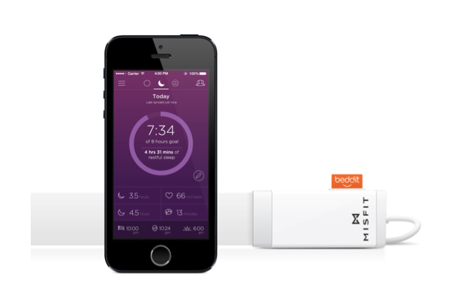 Misfit partners with Beddit to Release a Sleep Monitor