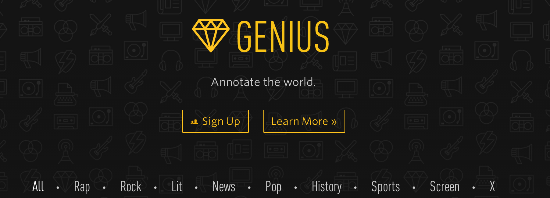 Rap Genius Rebrands as Genius to Become a Full-On Annotation Platform