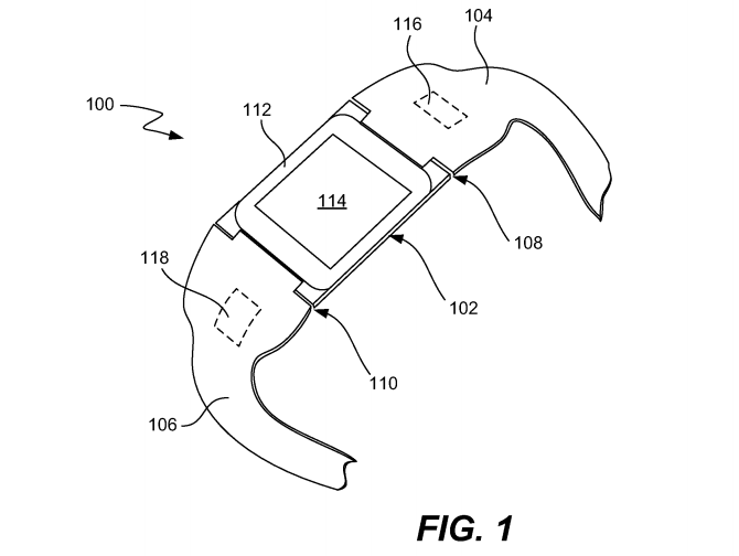 Screen Shot 2014 07 22 at 14.19.06 Apple patent from 2011 reveals iTime smartwatch design with detachable center module
