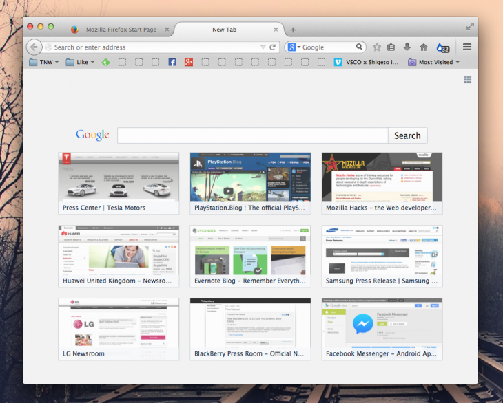 Screen Shot 2014 07 22 at 16.28.48 730x586 Firefox 31 is out now with a search bar on new tabs, better developer tools, and more