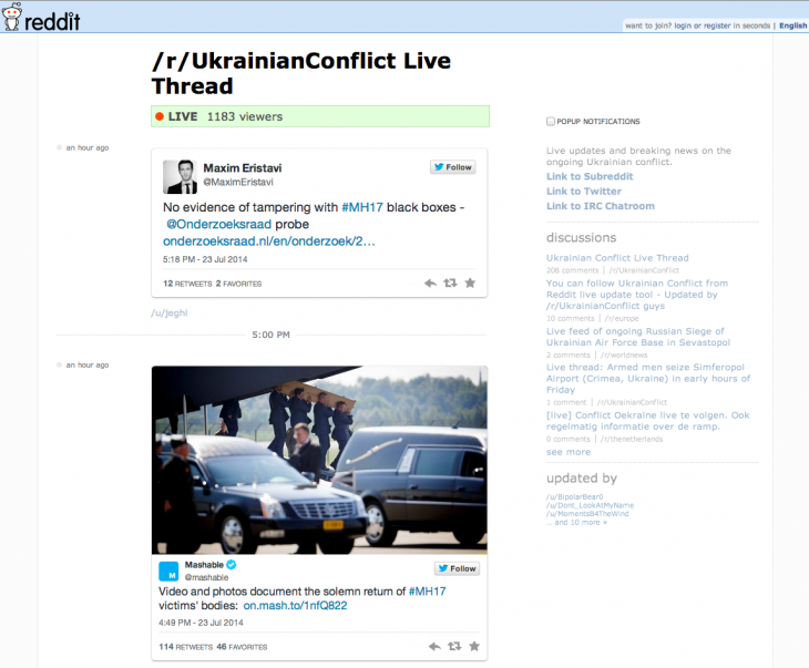 Screen Shot 2014 07 23 at 18.27.16 730x603 Reddit Live is now official, lets anyone create their own breaking news live blog