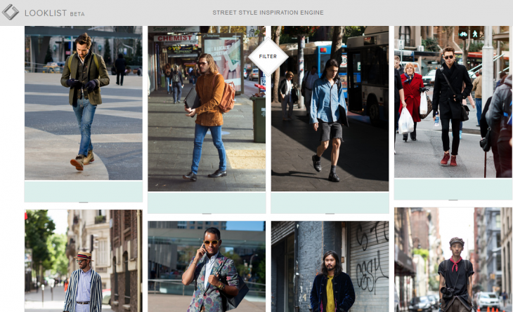 Screenshot 2014 07 09 11.53.561 730x445 Seeking fashion inspiration? Looklist trawls the Web so you dont have to