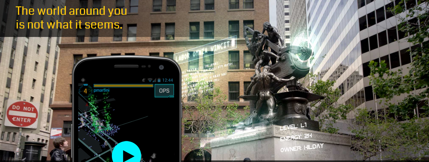 Google Brings its Ingress Augmented Reality Game to iOS