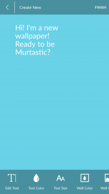 Screenshot 2014 07 03 16 07 49 220x391 Want to create your own live wallpapers on Android? Murtastic has you covered.