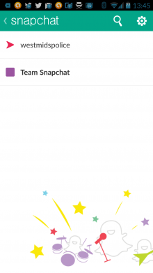 Screenshot 2014 07 18 13 45 55 220x391 This police force is using Snapchat to connect with young people