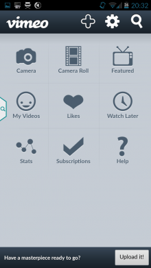Screenshot 2014 07 25 20 32 14 220x391 How to shoot, edit and publish videos from your Android smartphone