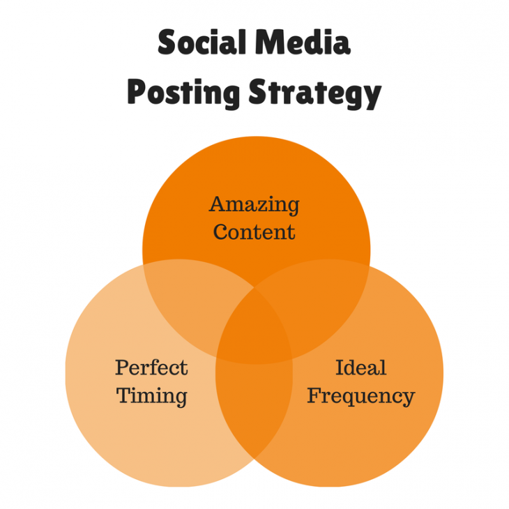 Social Media Posting Strategy 730x730 How to create a social media marketing plan from scratch