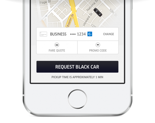 Uber Concur 2 520x413 Uber aims for businesses with a new platform, while integrating with Concur for easy expensing