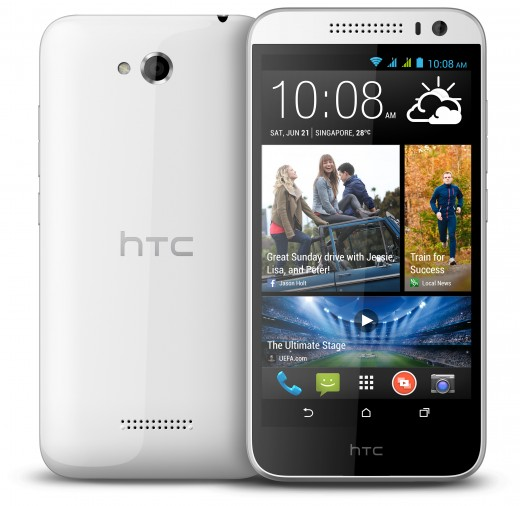 V3 White 2V 520x506 HTC boosts its mid tier offerings in Asia with the Desire 616, a $240 dual SIM smartphone