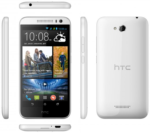 V3 White 6V 520x462 HTC boosts its mid tier offerings in Asia with the Desire 616, a $240 dual SIM smartphone