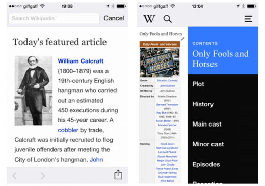 Wikipedia 520x366 20 of the best new iOS apps from July