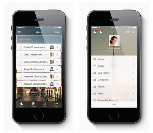 Wunderlist 520x451 20 of the best new iOS apps from July