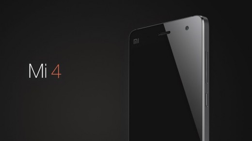 X4.001 520x292 Xiaomi unveils its new flagship smartphone, the Mi 4, with a metal frame