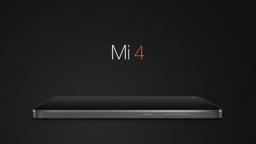 X4.003 520x292 Xiaomi unveils its new flagship smartphone, the Mi 4, with a metal frame