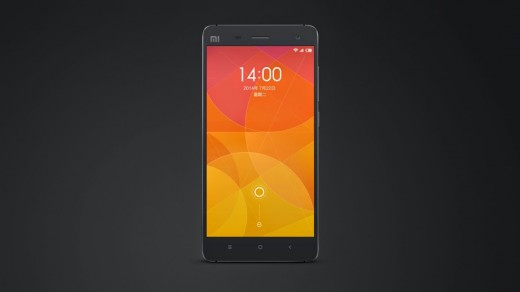 X4.004 520x292 Xiaomi unveils its new flagship smartphone, the Mi 4, with a metal frame