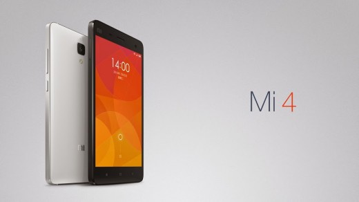 X4.006 520x292 Xiaomi unveils its new flagship smartphone, the Mi 4, with a metal frame