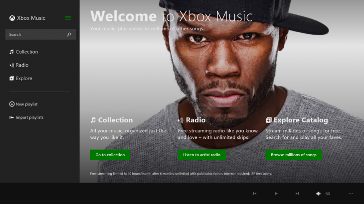 XBMusic On demand: 11 subscription music streaming services compared