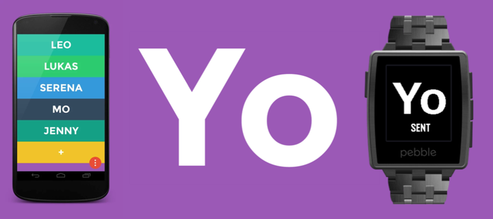 Yo Pebble Now you can say Yo on your Pebble smartwatch