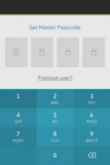 a5 220x330 Passible for iOS brings simplicity and a touch of awesome to the password management table